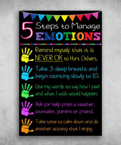 5 Steps To Manage Emotions