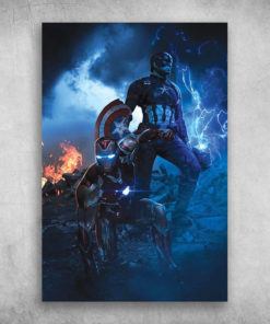 Avengers End Game Iron Man And Captain America