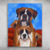 Boxer Is My Life Four Dogs