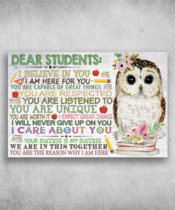 Dear Students I Believe In You I Am Here For You (2)