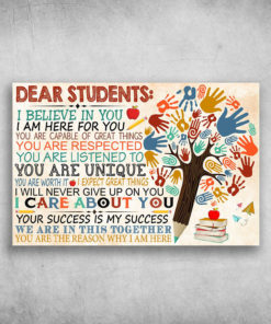 Dear Students I Believe In You I Am Here For You (3)