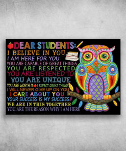 Dear Students I Believe In You I Am Here For You (6)