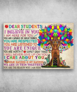 Dear Students I Believe In You I am Here For You Respected