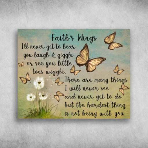 Faith's Wings I'll Never Get To Hear You Laugh