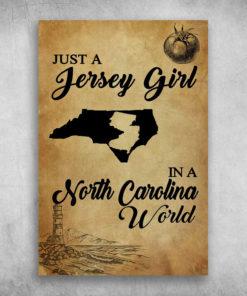 Just A Jersy Girl In A North Carolina