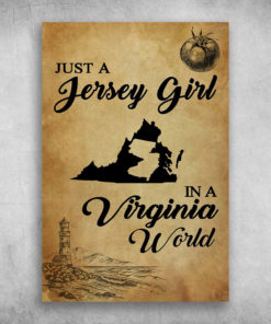 Just A Jersy Girl In A Virginia World