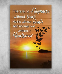 No Happiness Without Tears No True Love Without Heartbreaker