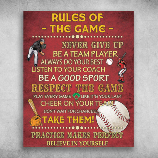 Rules Of The Game Never Give Up