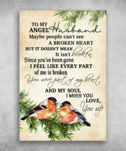 To My Angel Husband My Soul