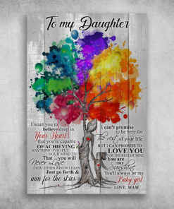 To My Daughter I Want You To Believe Deep In Your Heart