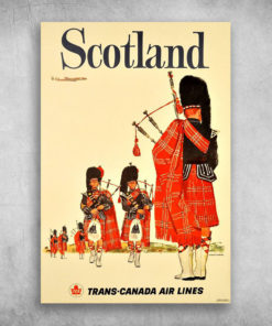 A Slice In Time Scotland Trans-Canada Air Lines Scottish Great Britain