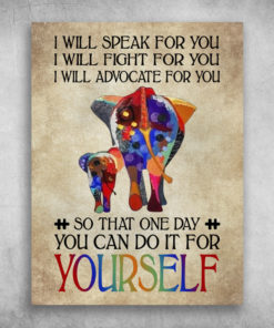 Autism I Will Fight For You You Can Do It For Yourself