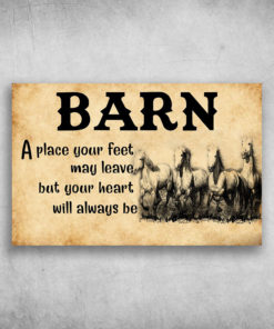 Barn A Place Your Feet May Leave