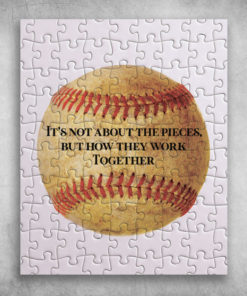 Baseball It's Not About The Pieces