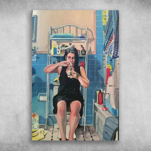 Broad City Abbi Jacobson In The Bathroom