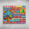 Family Rules Say Please And Thank You Autism
