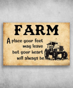 Farm A Place Your Feet May Leave