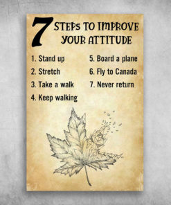 Fly To Canada To Improve Your Attitude