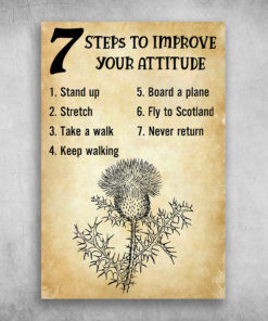 Fly To Scotland To Improve Your Attitude