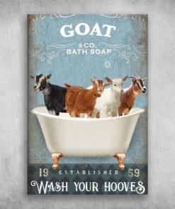 Goat Bath Soap Established Wash Your Hooves