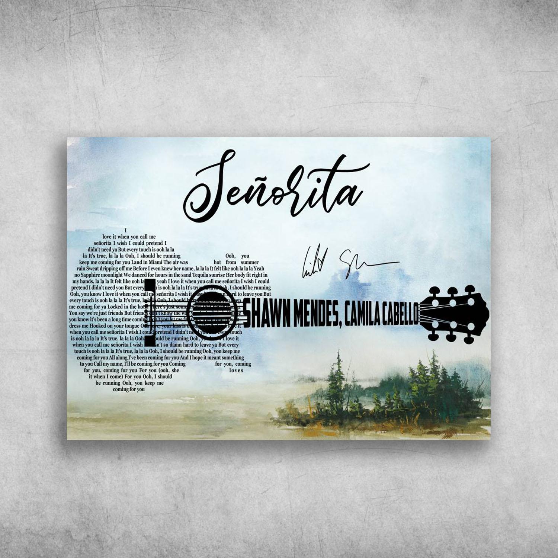 I love you call me senorita