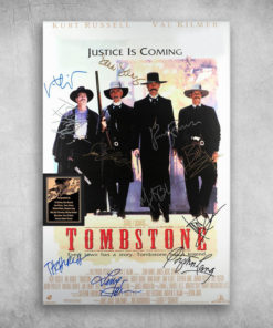 Justice Is Coming Tombstone