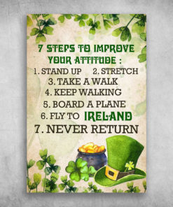 Seven Steps To Improve Your Attitude Fly To Ireland