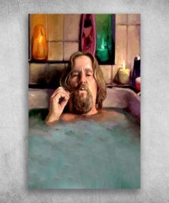 The Big Lebowski The Dude In Bathtub