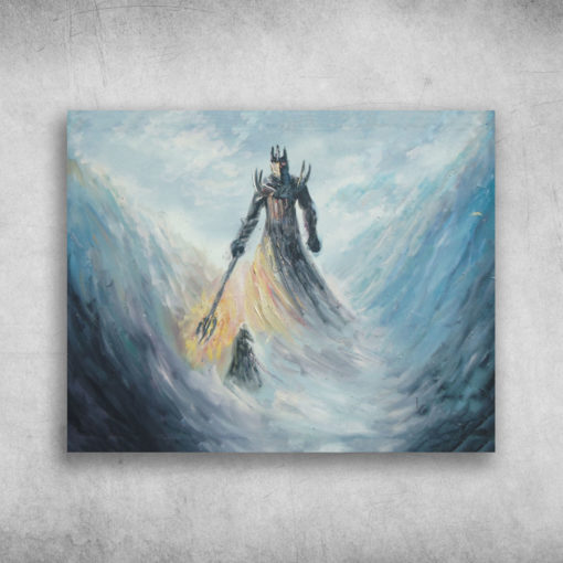Thus Died Fingolfin, High King Of The Noldor