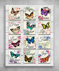 Butterfly Faith Happiness Dream Hope Believe Life