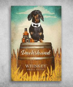 Dachshund Dog Whiskey Small Batch