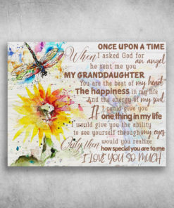 How Special You Are To Me I Love You So Much My Granddaughter