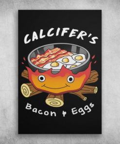 Howl Calcifer's Bacon And Eggs