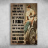 I Ride To Feel Free And I Ride To Feel Strong Old Grey Bikers