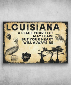 Louisiana America A Place Your Feet May Leave