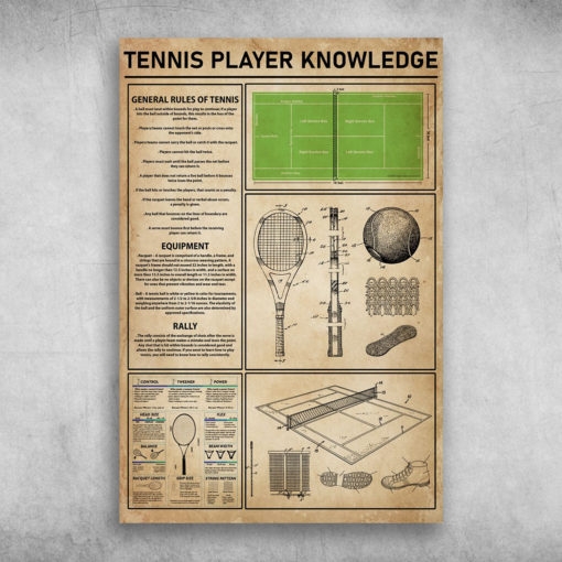 Tennis Player Knowledge General Rules Of Tennis