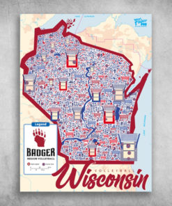 Volleyball Wisconsin Badger Region Volleyball