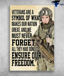 Woman Soldier Never Forget All They Have Done To Ensure Our Freedom