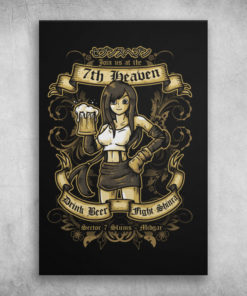 Join Us At The 7th Heaven Drink Beer Fight Shinra