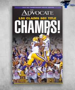 2019 Sec Championship Special Edition LSU Claims Sec Title
