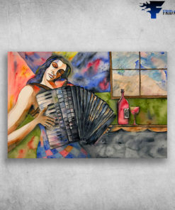 Accordion In Life Musical Instrument Music And Wine