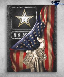 America United States Army American Flag