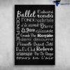 Ballet Dance Emboite Fondu Tondu Barre Royale Releve