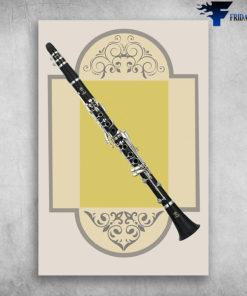 Clarinete Silvertone Profesional Clarinet Musical Instrument