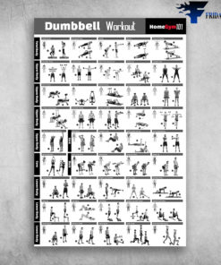 Dumbbell Workout Home Gym 101 Total Body