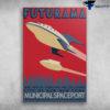 Futurama City Of New New York Municipal Spaceport