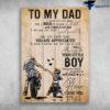 To My Dad I Know It's Not Easy For A Man To Raise A Child
