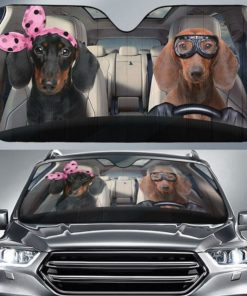 Funny Dachshund - Couple Dachshund Driver Gift For Dachshund Lovers