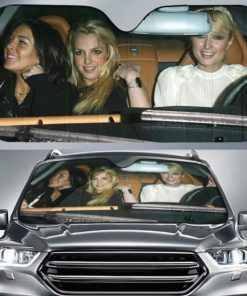 Lindsay Lohan With Paris Hilton and Britney Spears Driver