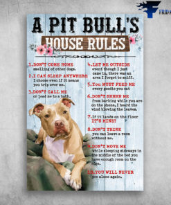 A Pit Bull's House Rules Don't Come Home Smelling Of Other Dogs
